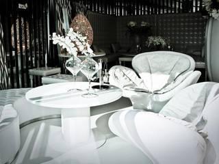 LUXURY VILLAS BY ARCHITECT ANTE VRBAN Soggiorno moderno di VGnewtrend Moderno