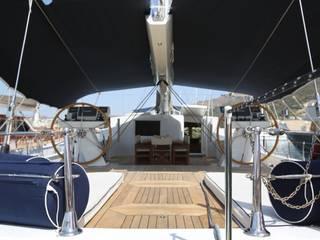 YACHT DESIGN Modern yachts & jets by Esra Kazmirci Mimarlik Modern