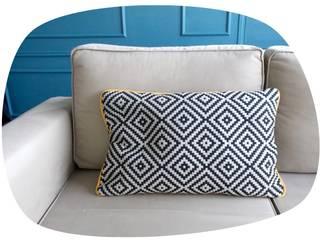Coussin déco géométrique:  de style  par J'ai pensé à un truc - Déco et créations textiles