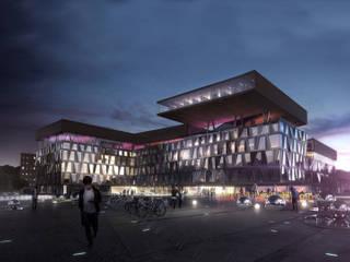 Zentral- und Landesbibliothek Berlin: Museos de estilo  de Envés arquitectos