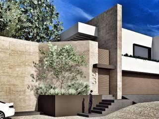 REM Arquitectos Modern houses