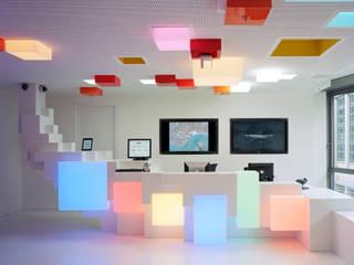 Google Foyer Ausgefallene Bürogebäude von team licht Ausgefallen