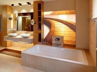 Wellnessbad: moderne Badezimmer von INNEN :: LEBEN