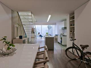 Vista Interior Casas de MOCAA