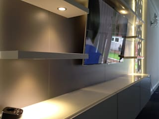 Bespoke TV unit:   by Sliding Wardrobes World Ltd