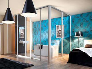 Sliding Wardrobe Doors od Sliding Wardrobes World Ltd Nowoczesny