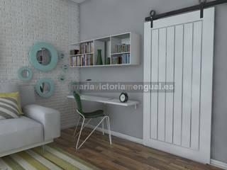 Salón para soltero/a, divorciado/a Salones de estilo ecléctico de MUMARQ ARQUITECTURA E INTERIORISMO Ecléctico