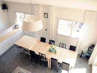 Le 16 - Espace de vie 1er étage: Maisons de style  par Aurélie Ronfaut dite Thi-Lùu