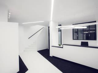 Zahnarztpraxis Dr. Hammer:  Geschäftsräume & Stores von Licht + Planung GmbH & Co. KG