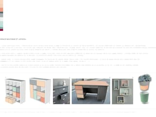La Cachette de Tom et Poucinette - Concept Store enfant - Décoration d'intérieur Espaces commerciaux modernes par Aurélie Ronfaut dite Thi-Lùu Moderne
