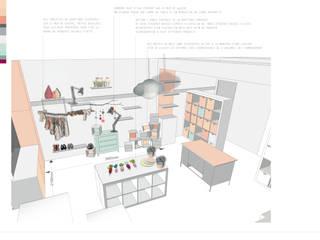 La Cachette de Tom et Poucinette - Concept store - Design global et décoration d'intérieur: Espaces commerciaux de style  par Aurélie Ronfaut dite Thi-Lùu