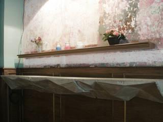 Dulce Barrio: Espacios comerciales de estilo  por MDC MUEBLES DE CONCRETO,