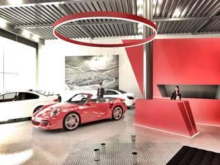 REM Arquitectos Modern car dealerships