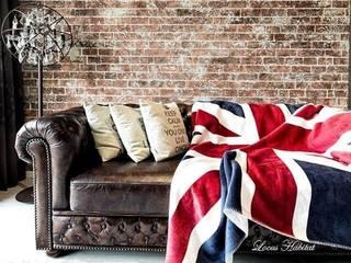 Leather Sofa von Locus Habitat Klassisch