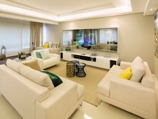 Salon moderne par AL11 ARQUITETURA Moderne