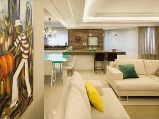 Salas de estilo  por AL11 ARQUITETURA