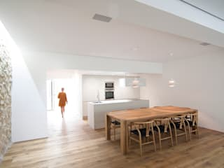 Casa en Quesa Balzar Arquitectos Comedores de estilo mediterráneo