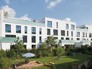 Ansicht Innenhof :   von Dewey Muller Partnerschaft mbB Architekten Stadtplaner