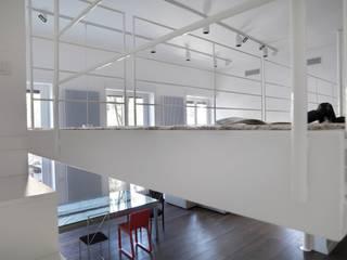 Living room by na3 - studio di architettura, Modern