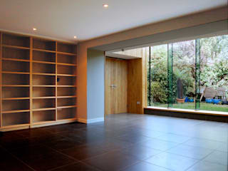 Alexandra Park, Redland Emmett Russell Architects Modern living room