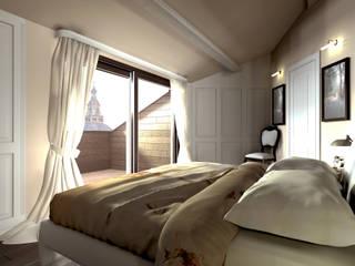 Progettazione d'Interni : Camera da letto in stile in stile Classico di AAA Architettura e Design
