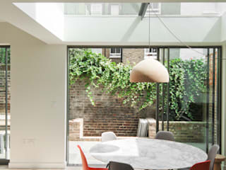 Lilyville Road, Fulham Emmett Russell Architects Dining room