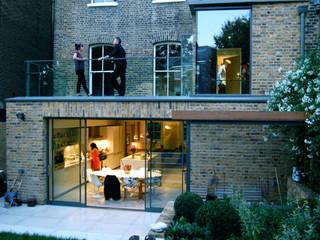 Alwyne Place, Islington Emmett Russell Architects Balkon, Veranda & Terrasse