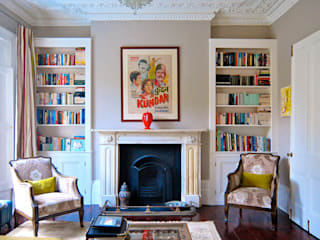 Alwyne Place, Islington Living room by Emmett Russell Architects