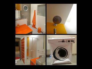 Villa Croissy sur Seine: Salle de bains de style  par VIRCO