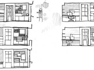 Agencement d'un duplex, Orléans:  de style  par Atelier Acanthe