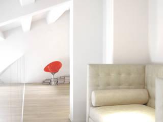 Minimalistischer Flur, Diele & Treppenhaus von Pinoni + Lazzarini Minimalistisch