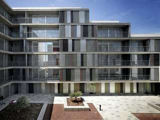 46 VPO en alquiler y locales comerciales gabriel verd arquitectos Casas