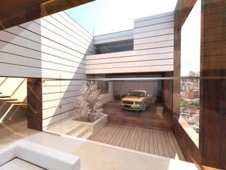 URBAN ATRIUM LOFT Casas de estilo moderno de Víctor Lusquiños. Arquitecto Moderno