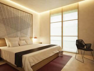 Hoteles: Ideas, imágenes y decoración | homify de Piedra Papel Tijera Interiorismo
