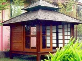 casa de campo japonesa : Jardines de estilo  de Ale debali study