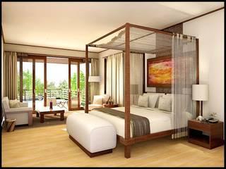 amueblar  hotel : Dormitorios de estilo  de comprar en bali,