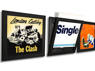 Play & Display Flip Frame For Vinyl Singles: eclectic  by Memory Box, Eclectic