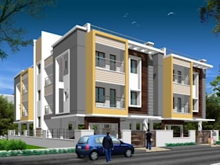Architectural Projects Modern houses by Fine Living Constructions Pvt Ltd Modern