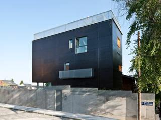 bikini 32 vivienda y estudio Casas de estilo minimalista de hollegha arquitectos Minimalista