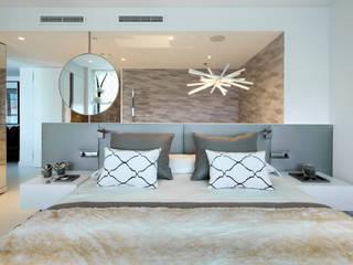 El mar en casa Dormitorios de estilo mediterráneo de Molins Design Mediterráneo
