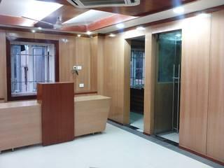 HITECH Group Corp. office bbs.: modern  by NAQSHA Design Solutions,Modern