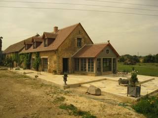 La Barre: Maisons de style de style Moderne par guillaume payeur architecte