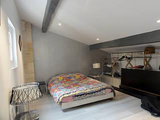 Maison P: Chambre de style de style Moderne par pierre bertin architecte