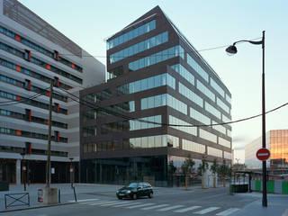Bureaux M5B3 à Paris XIII Espaces de bureaux par ECDM Architectes
