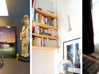 Appartement Bohème: Chambre de style de style eclectique par Harfang Decoration