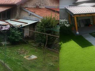 Riqualificazione giardino e legnaia di VS-Architettura