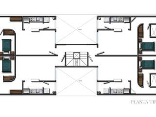 Golfo de Riga Casas modernas de RECON Arquitectura Moderno