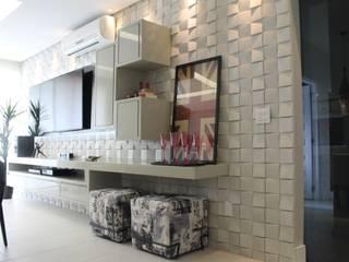 Sala de Estar e Jantar Salas de estar modernas por Lorena Loureiro Arquitetura e Interiores Moderno