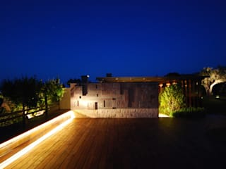 Private Villa in the Emerald Coast Cannata&Partners Lighting Design 現代房屋設計點子、靈感 & 圖片