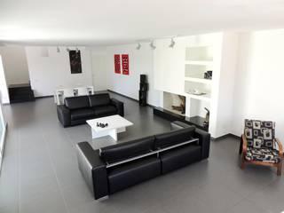 Modern houses by Sergio Aruanno Studio di architettura Modern